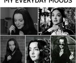 addams family, cute creepy cool, and morticia addams moods image