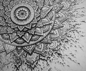 art, aztec, and black and white image