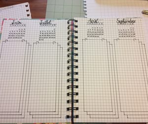 planning, bulletjournal, and planer image