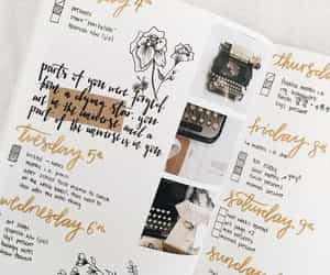article, bullet journal, and journal image
