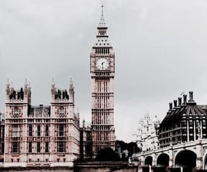 london, Big Ben, and travel image