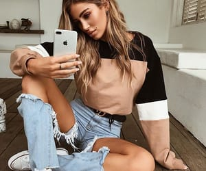 body, girls, and outfit image