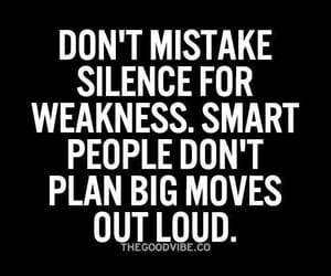 people, quotes, and silence image