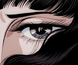 anime, aesthetic, and eyes image