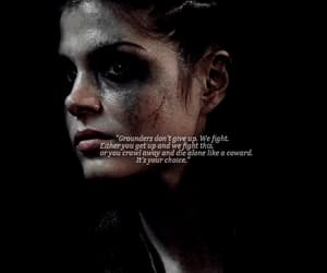 badass, pretty, and octavia blake image