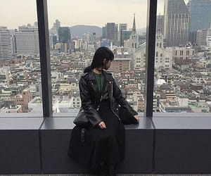 aesthetic, asian girl, and city image