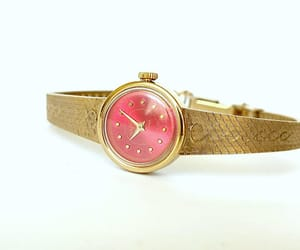 etsy, mechanical watch, and watches for women image