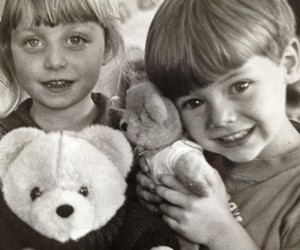 awww, bear, and children image