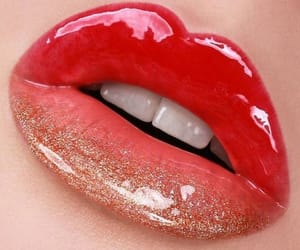 beauty, cosmetic, and lips image