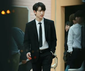 kpop, suit, and jinyoung image