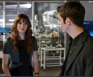 barry allen, caitlin snow, and flashfrost image