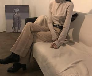 beige, aesthetic, and fashion image