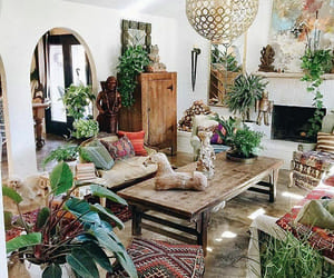green, decor, and home image