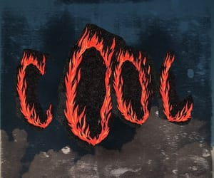 cool, fire, and grunge image