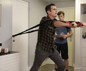 modern family, phil dunphy, and nolan gould image