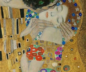 kiss, klimt, and art image