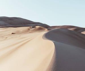 desert, nature, and sand image
