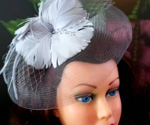 hats, vintage style, and fascinators image
