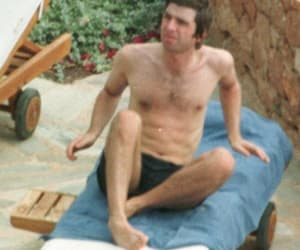 noel gallagher, topless, and oml image