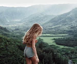 blonde, green, and nature image