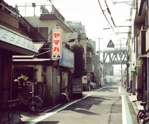 alley, japan, and atmosphere image