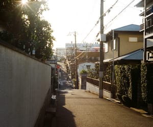 alley, japan, and park image