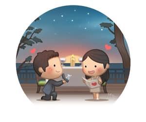 couple, hj story, and cute image
