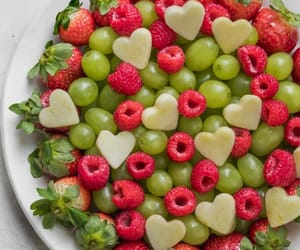 berries, fruit salad, and FRUiTS image