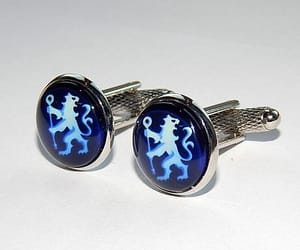 etsy, gift for him, and sports cufflinks image