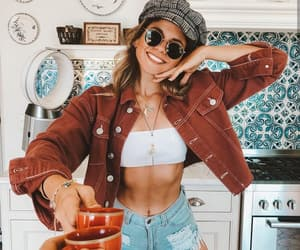 brown, fashion, and denim image