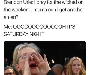 meme, meryl streep, and music image