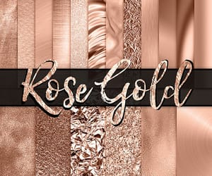 bright, rosegold, and pattern image