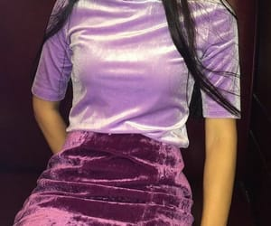purple, style, and outfit image