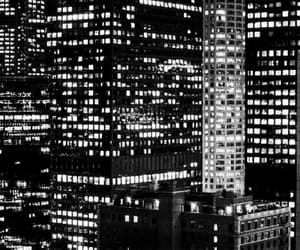 black and white, city life, and gif image