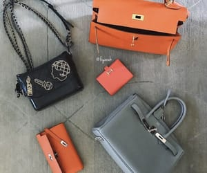fashion style, chanel orange, and ootd tenue love image
