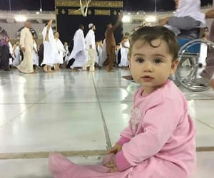 baby, family, and muslim image