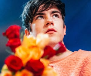 boy, declan mckenna, and flowers image