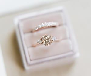 bridal, bride, and diamond image