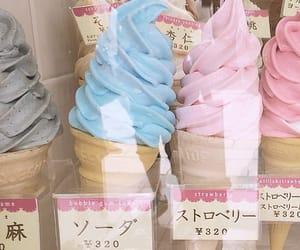 ice cream, japan, and food image