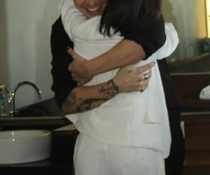 Harry Styles, fan, and hug image