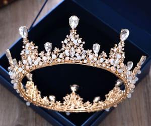 crystal, rhinestone, and wedding accessories image