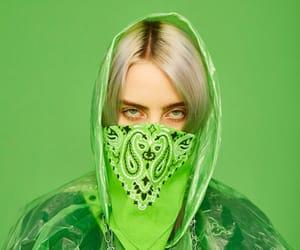 green, billie eilish, and billie image