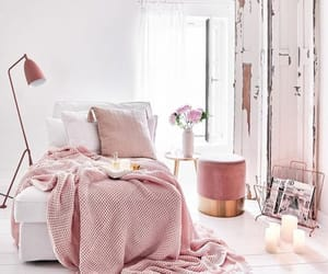 fashion, interior, and pink image