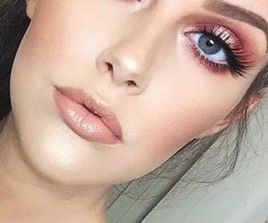 beauty, face, and makeup image