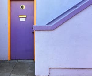 doors, lilac, and phoyography image