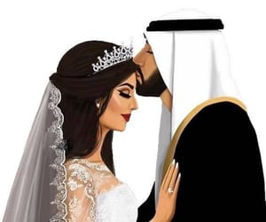 wedding, couple, and marriage image