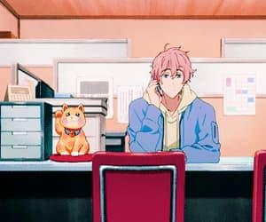 gif, anime gif, and kisumi shigino image
