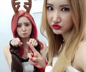 le, hani, and hyerin image