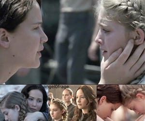 fandom, sister, and the hunger games image