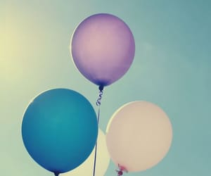 baloons, sky, and summer image